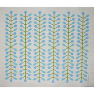 Swedish Drying Mat - Berry Branch Blue (220.04)