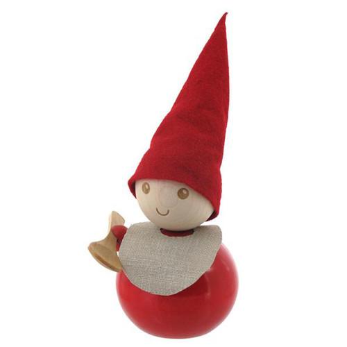 Tonttu Christmas Elf - Wooden Spoon and Bib (B6395)