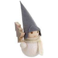 Tonttu Christmas Frost Elf - Metsuri Pakkanen - Logger w/Tree