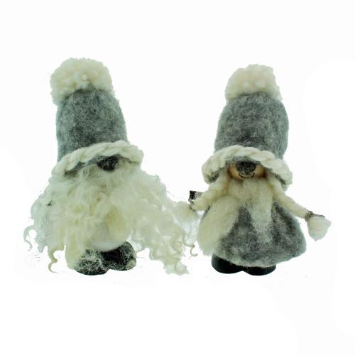 """Wool Tomte - Grey -3 3/4"""" (7011G)"""