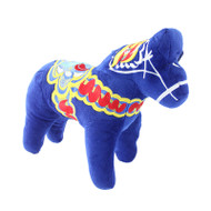 Dala Horse Stuffed Animal - Plush Toy - Blue (42303)