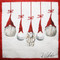 Tomte Ornaments Luncheon Napkins - 20 pk (35111)