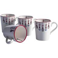 "Tomte Ornaments Glogg Mugs - 3"" - Set of 4"
