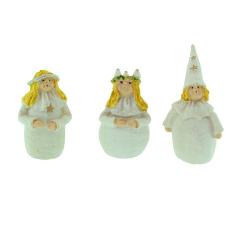 "Lucia, Star-boy & Attendant Mini Set - 3"" (7145)"