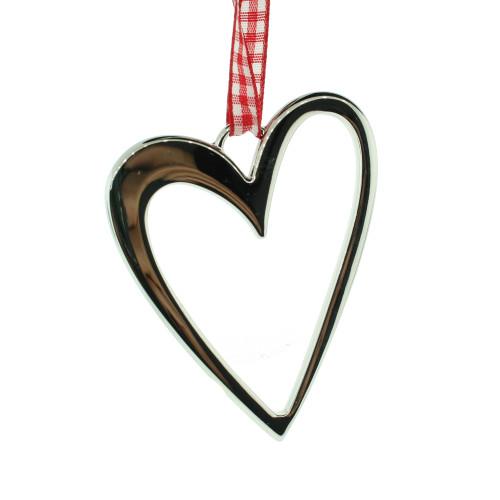 """Heart Contour Ornament - 3"""" (10511)"""