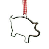 """Pig Contour Ornament - 3"""" (10510)"""
