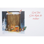 Christmas Cards w/Envelope - 10 pk. Assorted Julkort (91201)