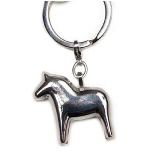 Dalahorse Key Ring - Silver (62790)