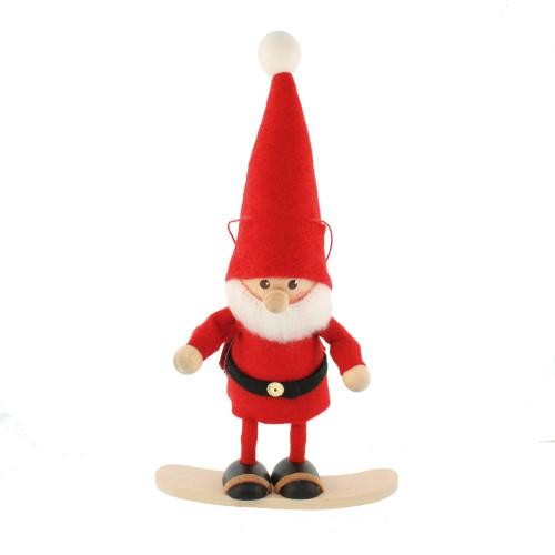 """Tomte-Santa on Snowboard - 5"""" (26289)"""