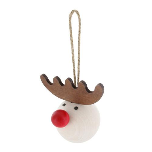 "Petteri Reindeer Ornament - 2.5"" (B5501)"