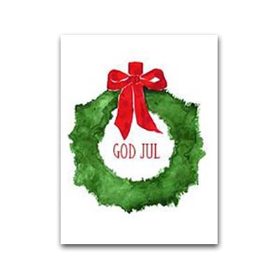 God Jul Julekrans Gift Card (LS1)