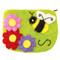 Honey Bee Felt Coin Purse (22115B