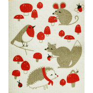 Swedish Dishcloth - Toadstool Time (70075)
