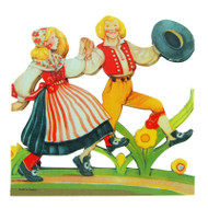 Swedish Dancers Cutout (BK-13)