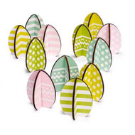 Easter Egg Decorations - Wooden (7100122)