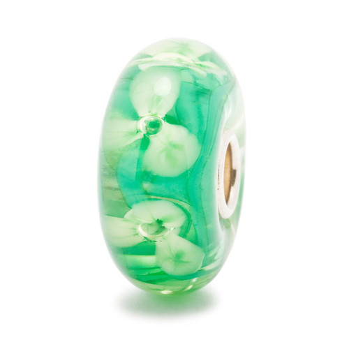 Forest Anemones Bead - Trollbeads - Glass (TB10126)