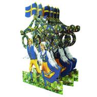 Midsummer Cutout/pullout - Dancers (BK-3)