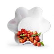 Sagaform Piccadilly Flower Shaped Serving Bowl - White