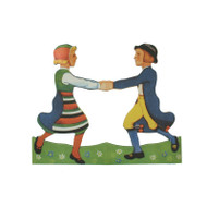 Paper Cutout/pullout - Children Dancers (BK-31)
