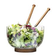 Sagaform Oak Serving Bowl and Serving Set