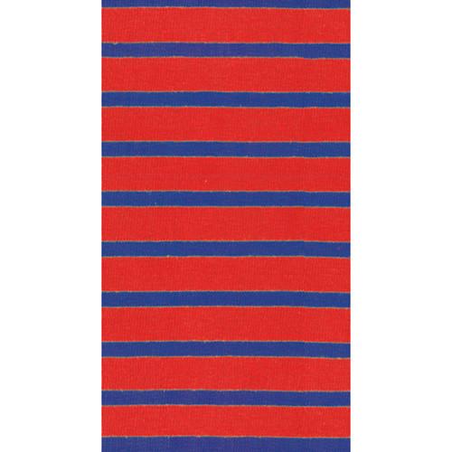 Bretagne Red/Blue Paper Guest Towel Napkins - 15 per package (11862G)