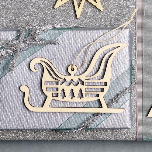 Nordic Sleigh Ornament (8821666)