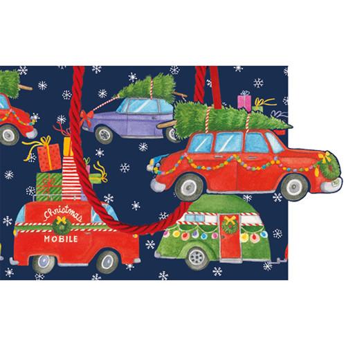 """Gift Bag - Small - Christmas Rush - 5"""" X 7"""" (9702B1)"""