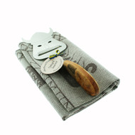 Viking Ship Towel & Cheese Slicer Gift Set (707-15)