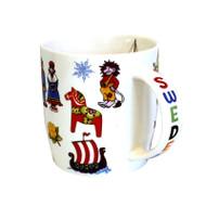 Sweden Motifs Mug (92001)