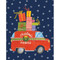 Christmas Rush Christmas Card Box A Size 16 In (87010)