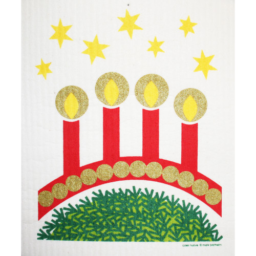 Swedish Dishcloth - Advent Candles (219.60)