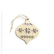 Nordic Bauble Ornament (8822366)