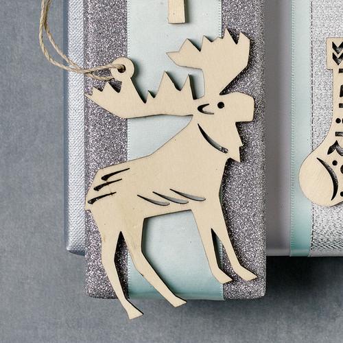 Nordic Moose Ornament (8821669)