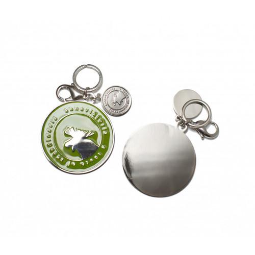 Moose Key Ring - Green (62992)