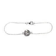 Scandi Dalahorse Bracelet - Silver (63007)