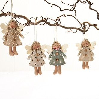 Angel Ornaments - Set of 4 (8632)