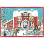 "Advent Calendar - Nordic Christmas - 9.75"" x 13.75"" (AC8972)"
