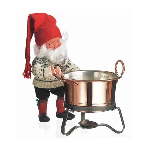 Copper Glogg Pot with Ladle (2106P)