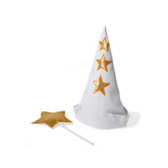Star Boy Hat & Wand Set - Plush (2822)