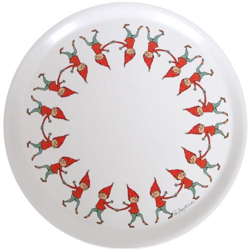 """Tomte Pixie Kids Round Tray - 15"""" Diameter (86727)"""