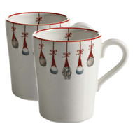 Tomte Ornaments Mugs - Set of 2 (7151-10)