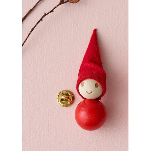 Tonttu Christmas Elf Brooch (A6295)