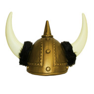 Viking Helmet - Gold (18243)