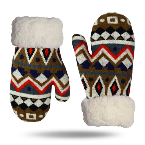 Nordic White Gloves/Mittens (NOR-WHT-GL)