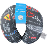 Sweden Travel Pillow (45451)
