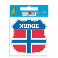 Norge Shield Decal (14034)