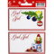God Jul Gift labels - Christmas Lights - 6-pack (11595201B)