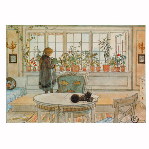 Carl Larsson Post Card (PC10)