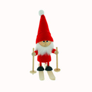 "Tomte-Nisse on Skis - 6"" (26303)"