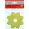 "Paper Candle Cuff -6 pk.- Yellow - 4"" (Ljus)"